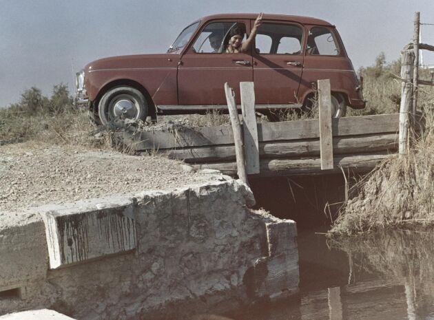 Klassisk Renault 4L.