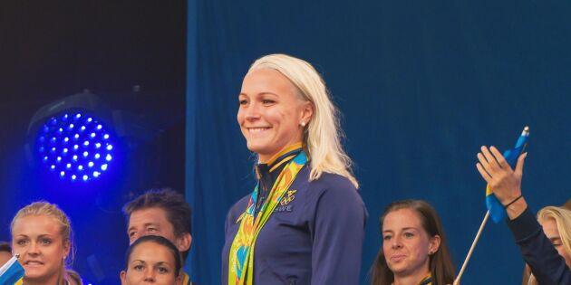 Grattis Sarah Sjöström! Bragdguldet 2017 års vinnare