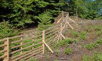 Klartecken för tillverkning av trähägn