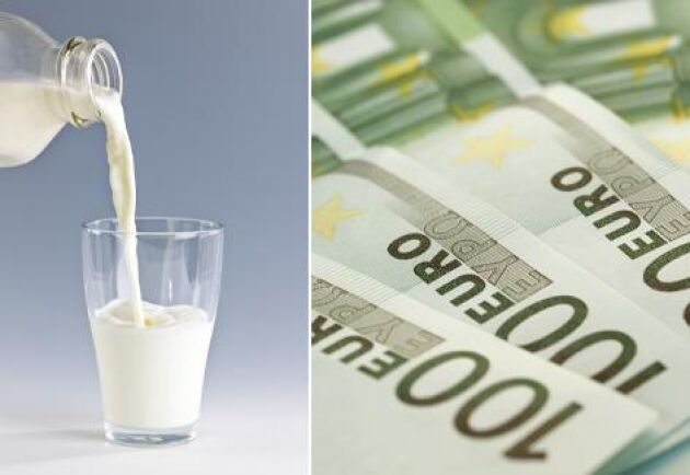 Priset på den italienska mjölken har rasat sedan coronaviruset brett ut sig. Arkivbild.