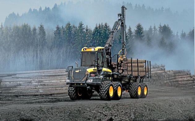 Ponsse satsar på en ny skotare i 16-tonsklassen med helt steglös transmission.