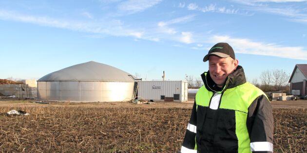 Så vässade Ölandsbonden biogasanläggningen