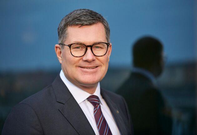 Magnus Kagevik, divisionschef för Lantmännen Energi.