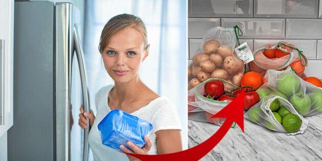 Så slipper du förpacka maten i engångsplast – 5 smarta och hållbara alternativ!