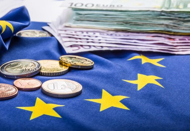 10 euro i gårdsstöd ger detta år närmare 107 svenska kronor i börsen.