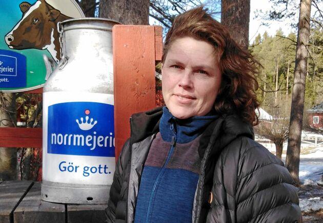 Norrmejeriers ordförande Ulla Bergström.