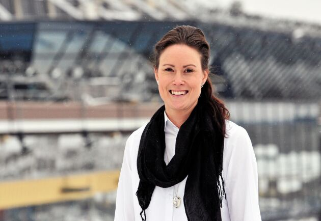 Karolina Lagerlund, VD för Hästnäringens nationella stiftelse (HNS).