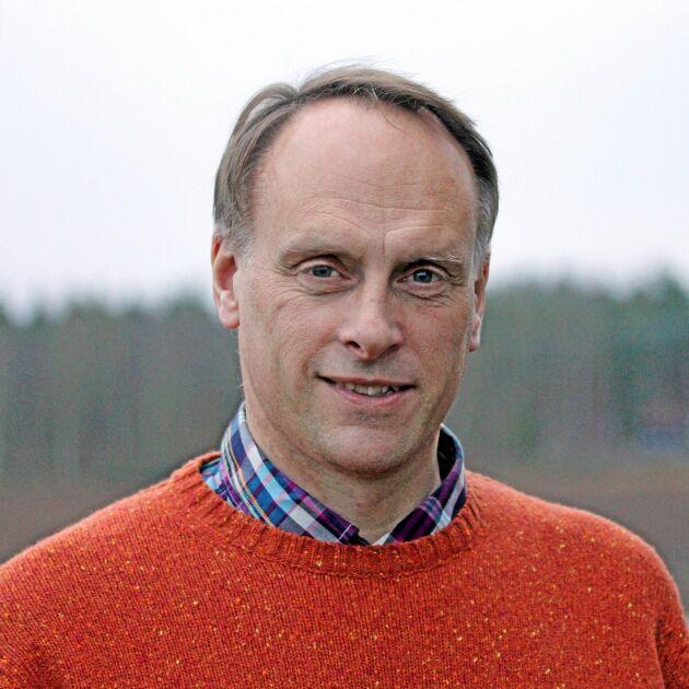 Per Widén, ogräsrådgivare på Jordbruksverkets växtskyddscentral i Uppsala.