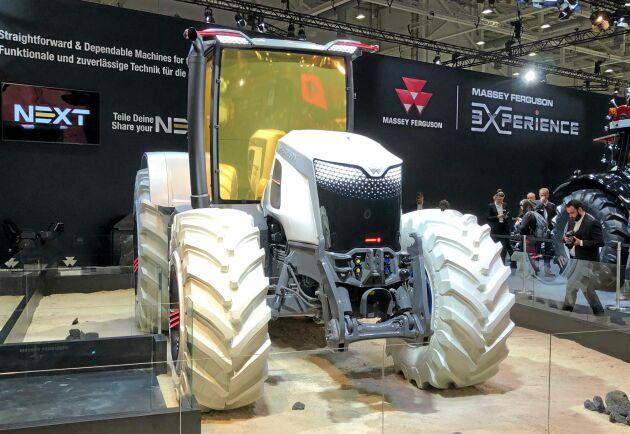 Massey Ferguson Next är ännu enbart en förevisning om hur företaget ser på sina traktorer i framtiden.