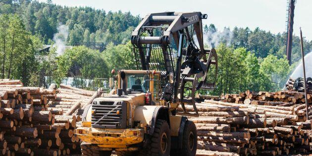 Många nya skogsjobb - färre i lantbruket