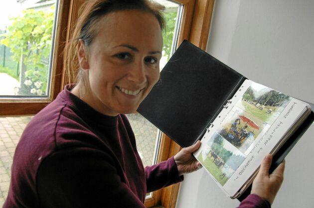 Lisen Bratt Fredricson är en entreprenör ut i fingerspetsarna. Verksamheten på Grevlundagården innehåller många kompontenter.