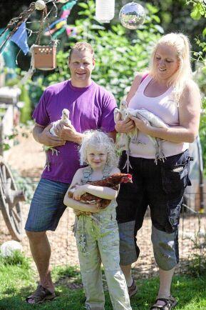 – Det var helt fantastiskt kul. Det här gör vi om, säger Christina Almén. För henne och den övriga familjen på Brantas gård i Väröbacka var det första gången de visade sina odlingar under Öppen Trädgård.