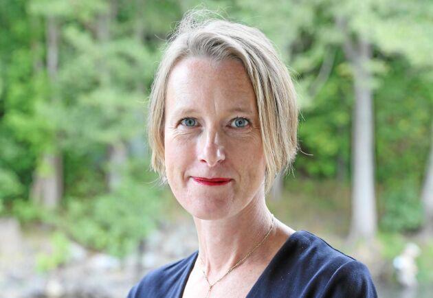 – Jag är otroligt taggad att få marknadsföra svenskt skogsbruk, säger Viveka Beckeman.