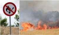 Flera bränder i påsk –nu utfärdas eldningsförbud