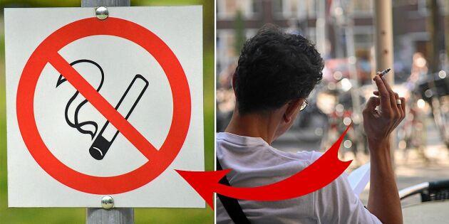 Nu införs det nya rökförbudet – så här fungerar det i praktiken