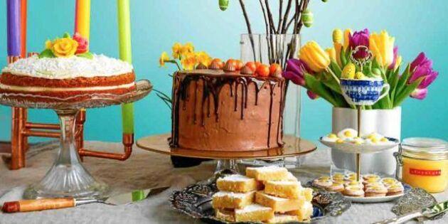 Äntligen påsk! Fira med en maffig chokladtårta