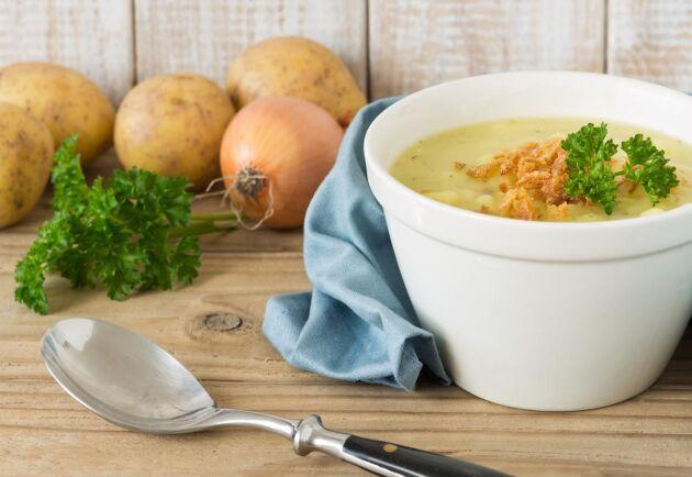 Potatissoppa är enkel och god vardagsmat!