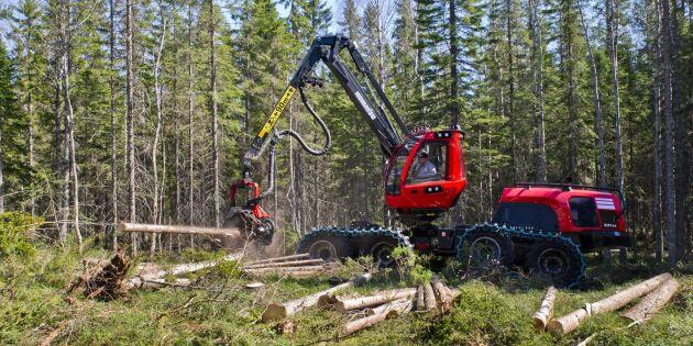 Ökade kostnader för skogsmaskinsägare