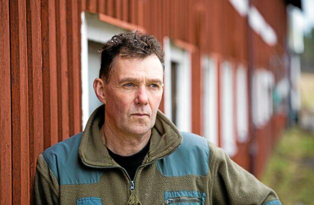Stefan Gård är mjölk- och köttproducent i Värmlandsnäs.