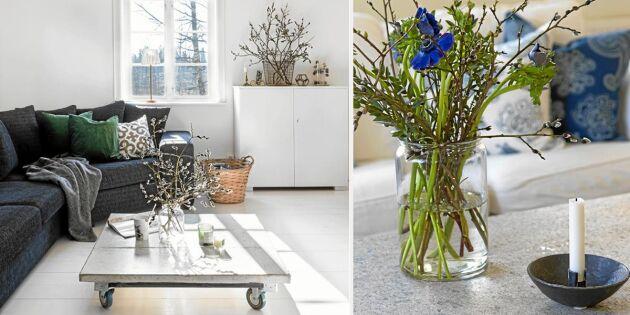 7 lantliga vardagsrum – som får oss att längta till våren | Land.se