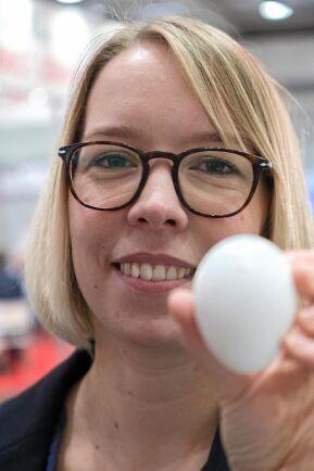 """Marknaden. """"Vår plan är att 2019 utöka den egna produktionen. 2020 ska vi erbjuda tekniken till andra kläckerier och då kan vi också gå utanför Tyskland"""", säger Marie Carmen Uphoff."""