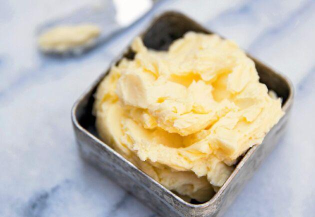 Godaste smöret gör du själv.