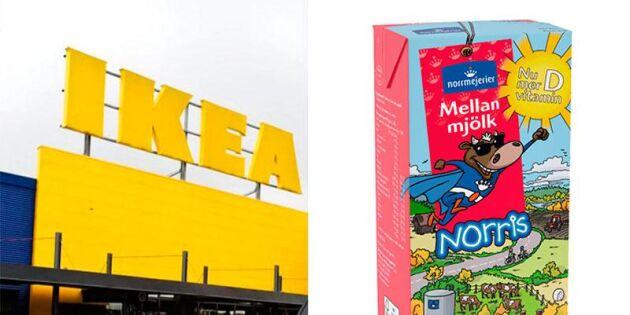 Ikeas pudel: Byter mjölken i varuhuset
