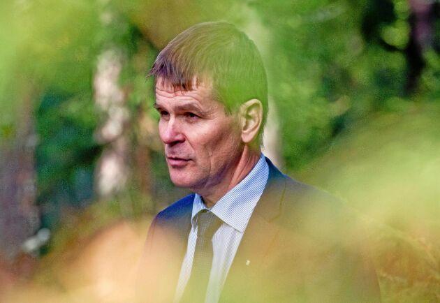 Skogsstyrelsens generaldirektör Herman Sundqvist skulle gärna se att färre ärenden behövde prövas av domstol – men då behövs en lagstiftning som ger tydlig vägledning.