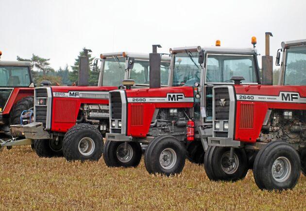 Henrik Jensen har köpt sin MF 2805 från USA.