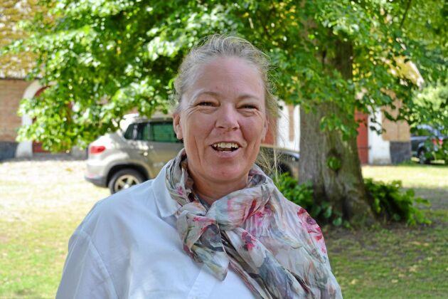 Jennie Barron, professor vid Sveriges lantbruksuniversitet, forskar kring hur teknik för vattenhushållning kan säkra produktion, uthållighet och lönsamhet i jordbruket.