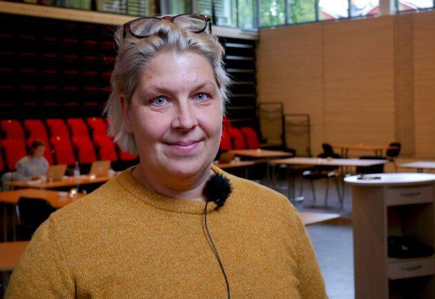 Malin Andersson är både deltagare och en av initiativtagarna. Projektets plattform som underlättar med både kontakter och mentorskap är något hon själv saknade när hon startade sitt eget företag för tolv år sedan.