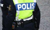 Polis stoppade lastbilar med tinat kött