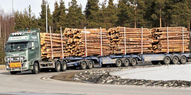 Framgång i uppgörelse om långa lastbilar