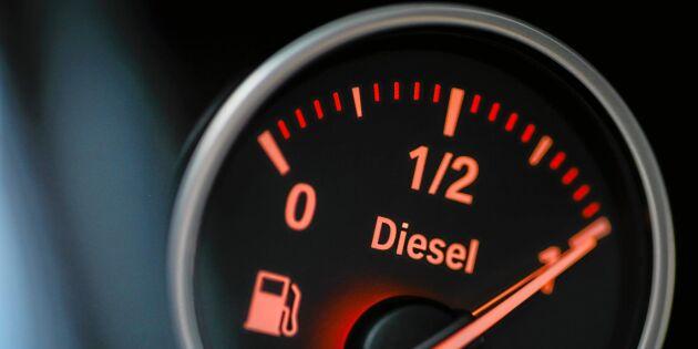 Färre dieselstölder – men få tror på glädjesiffrorna