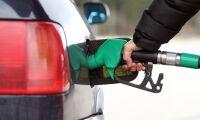 Priset på diesel drar ifrån bensinen