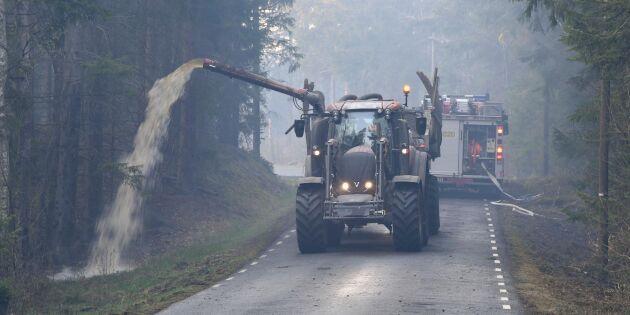 Bönder ska bli brandmän i specialstyrka