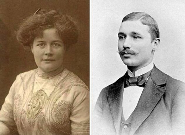 Anna Albertina Constantia Charlier föll för den blivande polarfararen Nils Strindberg.