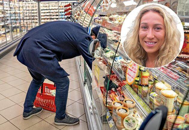 Vi borde vara mer noggranna med vad vi får för pengarna i mataffären, tycker Elisabeth Hidén Kjellander.