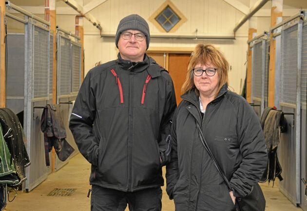 Göran Skoglund och hans fru Eva såg en affärsmöjlighet när släktgården strax intill blev till salu. Det ger dem ytterligare ett ben att stå på.