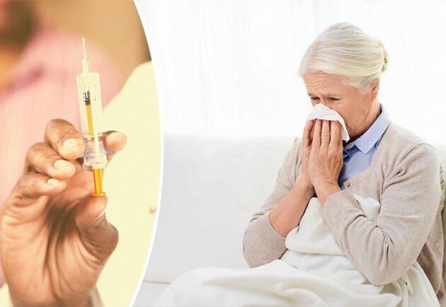 Tillhör du någon av riskgrupperna? Då bör du vaccinera dig mot vintersäsongens influensaepidemier.