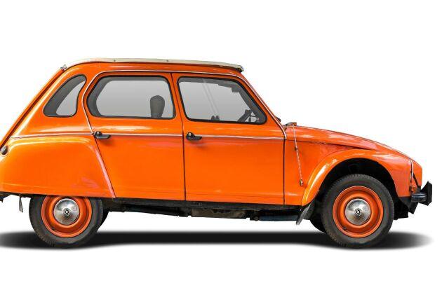 Enligt en studie borde fler satsa på en orange bil.