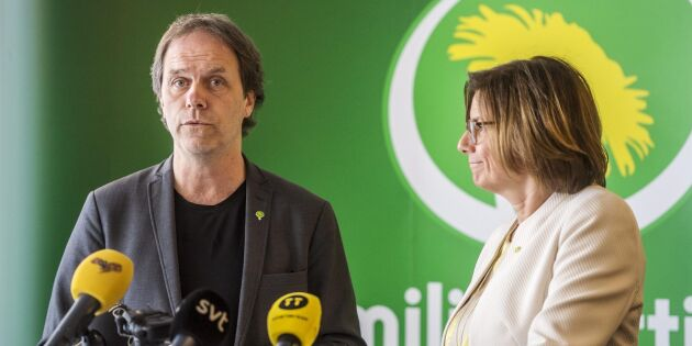 Miljöpartiets Pär Holmgren vill inte skära ner på Cap