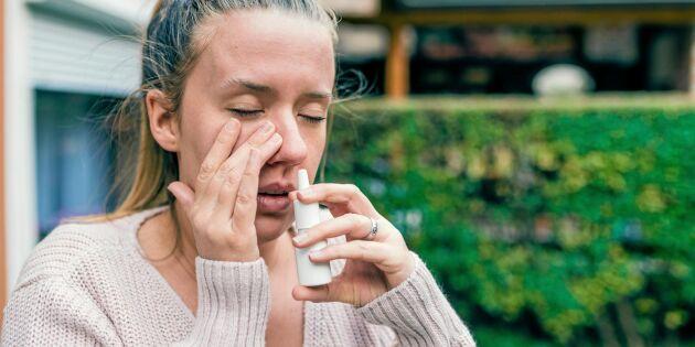 Allt om nässpray – biverkningar, beroende och tips på avvänjning