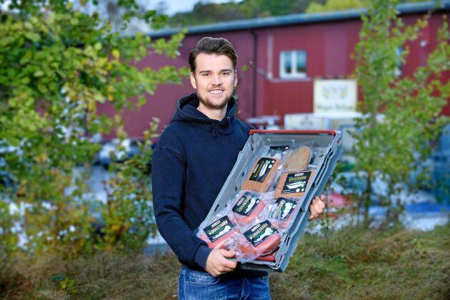 Marcus satsning på vegochark blev ett lyft för hans anrika familjeföretag H Karlsson Chark i Härryda.