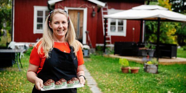Nina från Hela Sverige bakar – har öppnat drömbageri i sitt torp