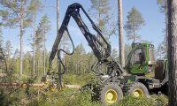 Skogsmaskinförsäljningen slår rekord