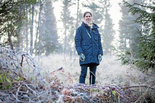 Johanna Sandahl, ordförande i Naturskyddsföreningen.