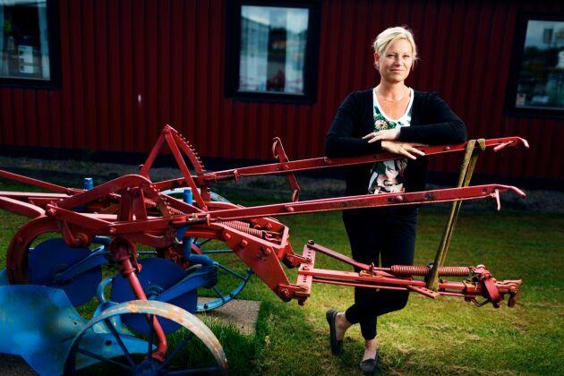 Kristina Gustafsson, foderchef Lantmännen.
