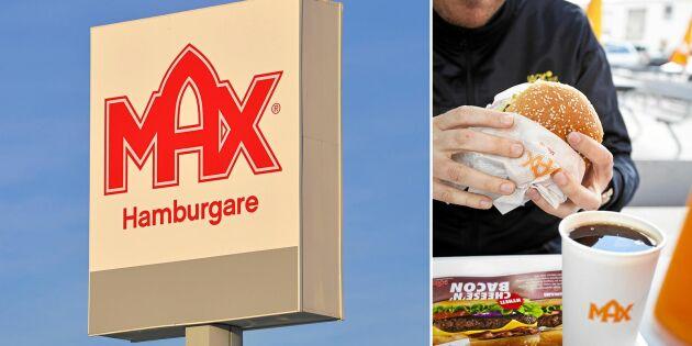 Hamburgerkedjan Max kritiseras efter samarbete med Djurens rätt