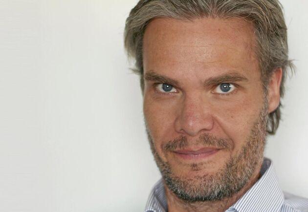 Niclas Karnhill, presschef på IP Only.